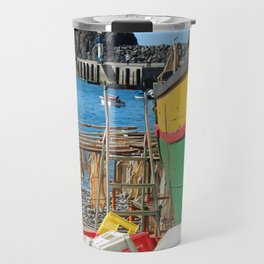 Watching the ships come in... Travel Mug