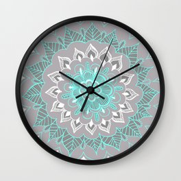 Bubblegum Lace Wall Clock
