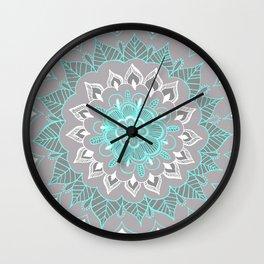 Bubblegum Lace Wall Clock