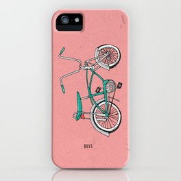 Boss. iPhone Case