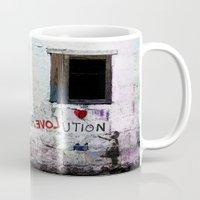 revolution Mugs featuring rEVOLution by Bärdie D/Sign