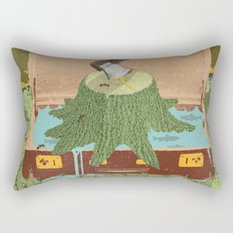 TRAVELING STUMP Rectangular Pillow