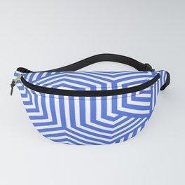 Royal blue (light) - heavenly - Minimal Vector Seamless Pattern Fanny Pack