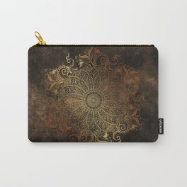 Mandala - Copper Carry-All Pouch