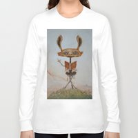 teacher Long Sleeve T-shirts featuring the teacher  by Ed Schaap