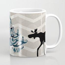 A Moose finds home Coffee Mug