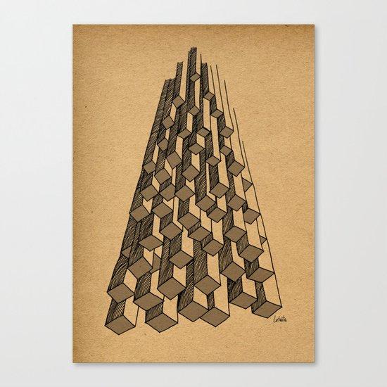 - cascade - Canvas Print