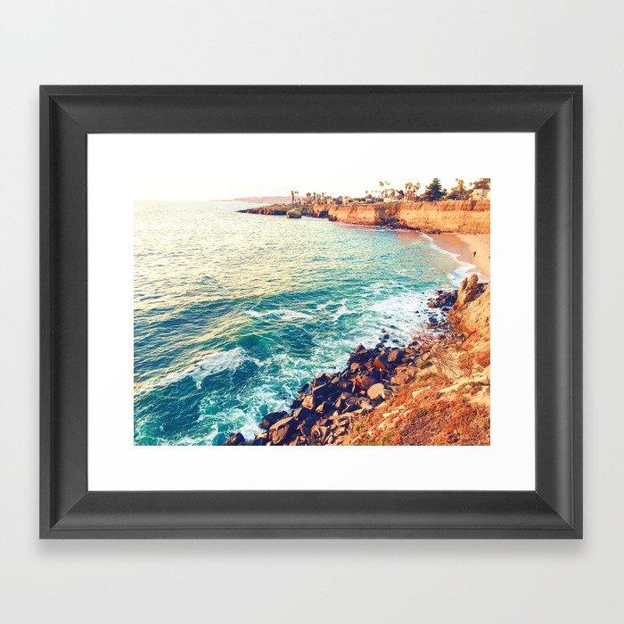 San Diego Gerahmter Kunstdruck