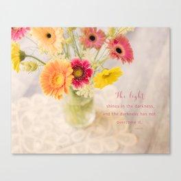 Summer Floral* Canvas Print