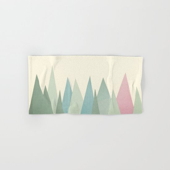 Snowy Mountains Hand & Bath Towel