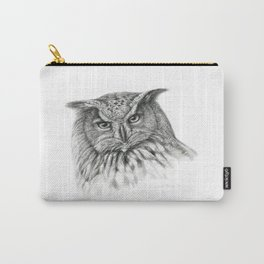 Owl (G2-011)  bubo bubo  Carry-All Pouch