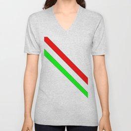flag of Italia scarf- Italy,Italia,Italian,Latine,Roma,venezia,venice,mediterreanean,Genoa,firenze Unisex V-Neck