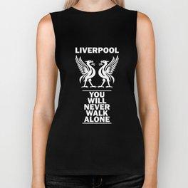 Slogan Liverpool Biker Tank
