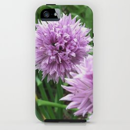 Chive Blossoms iPhone Case