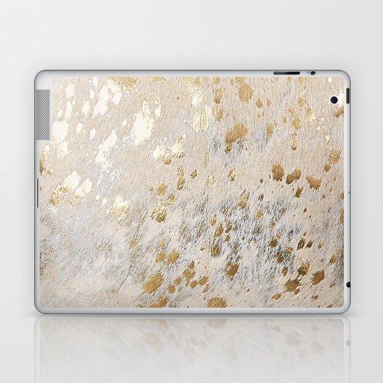Gold Hide Print Metallic by koovox