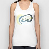 rush Tank Tops featuring Rush  by Sammy Cee