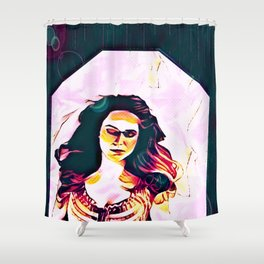 We Part Ways In This Life (part 2 of 3) Shower Curtain