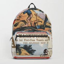 Vintage poster - California Backpack