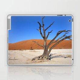 Skeleton tree in Namibia Laptop & iPad Skin
