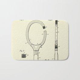 Tennis Racket-1925 Bath Mat