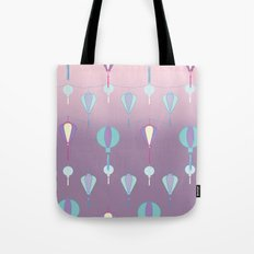 Japanese Lanterns // Graphic Print Tote Bag