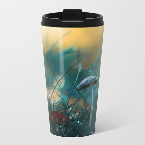 Fire in the Water Metal Travel Mug