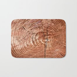 Tree Rings Bath Mat