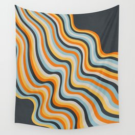 Dancing Lines Wall Tapestry