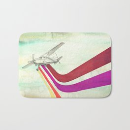 80's Airplane - CESSNA 2 Bath Mat