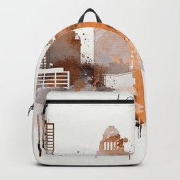 Vintage Louisville skyline design Backpack