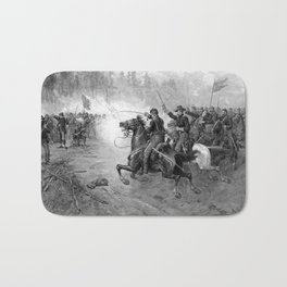 Union Cavalry Charge Bath Mat
