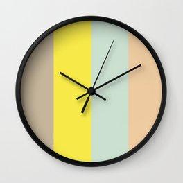 Color Ensemble No. 1 Wall Clock