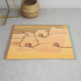Beached Labyrinth Rug