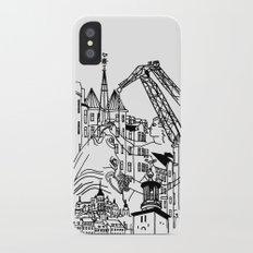 Three City Silhouettes Slim Case iPhone X