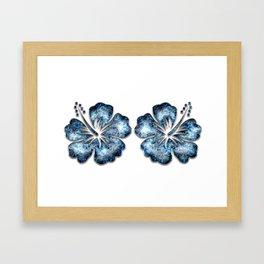 Decor Ornament Blue 1 Framed Art Print