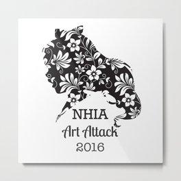 Art Attack 2016 Logo by Abrianna Metal Print