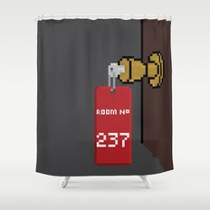 The Pixeling Shower Curtain