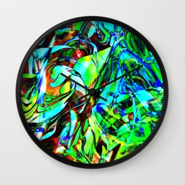 Fluid Painting 3 Wall Clock
