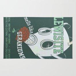 Vintage poster - Lewisite Rug