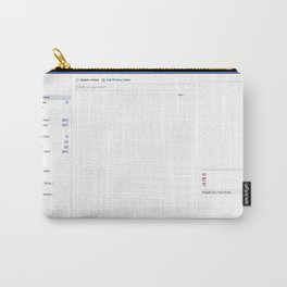 facebook - fill me! Carry-All Pouch