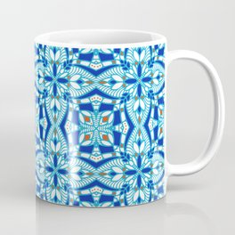 Mediterranean blue tiles Coffee Mug