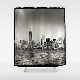 Lower Manhattan, New York City Shower Curtain