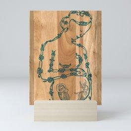 A Mother's Hope (Celtic knots zodiac) Mini Art Print