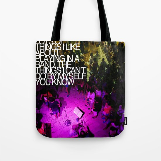 By myself Tote Bag