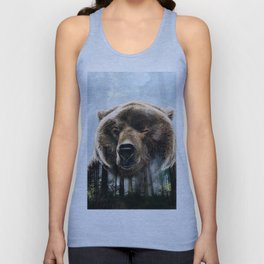 In the forest Unisex Tank Top