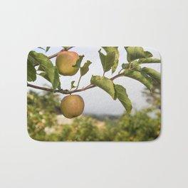 Apples on a Tree Bath Mat