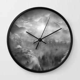 B&W - Wish You Were Here (Chapter I) Wall Clock