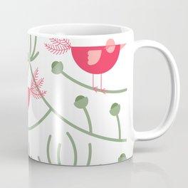 Resting Birdies - Pink Coffee Mug
