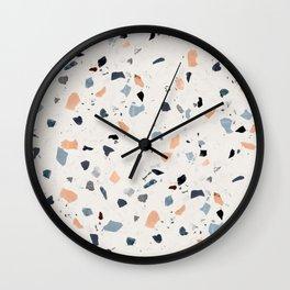 terrazzo pattern Wall Clock