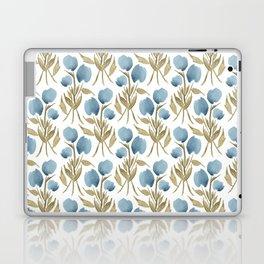 Midnight Tulips Laptop & iPad Skin